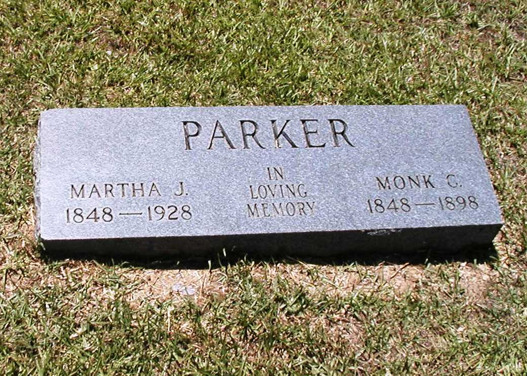 "Monkford ""Monk"" C. Parker"