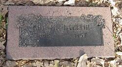 Frank A Taylor