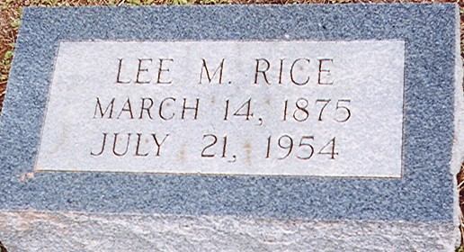 Ruth Lee Rice