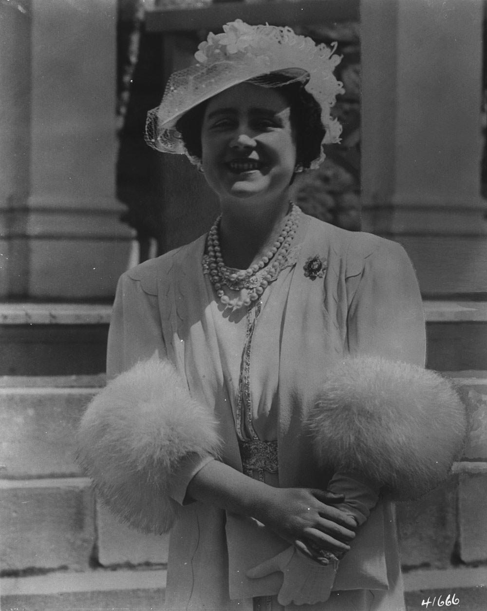 Elizabeth Angela Marguerite Bowes-Lyon, Queen Elizabeth The Queen Mother
