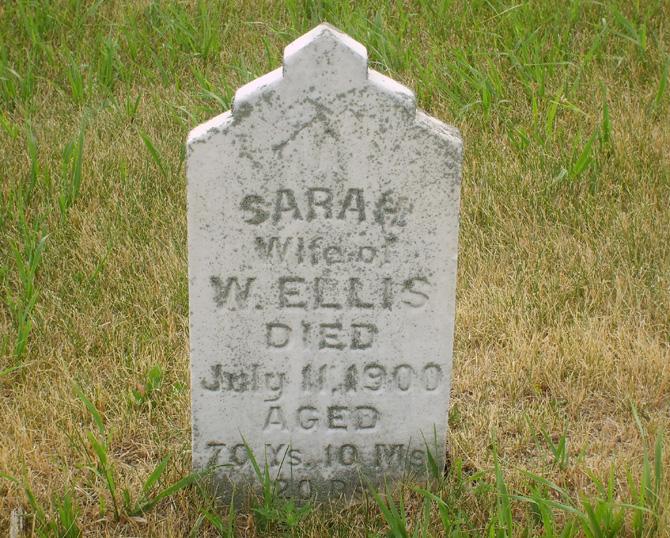 Sarah Sally Heston