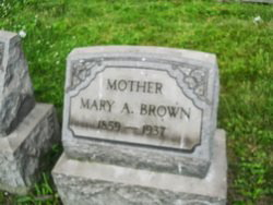 Mary A Brown