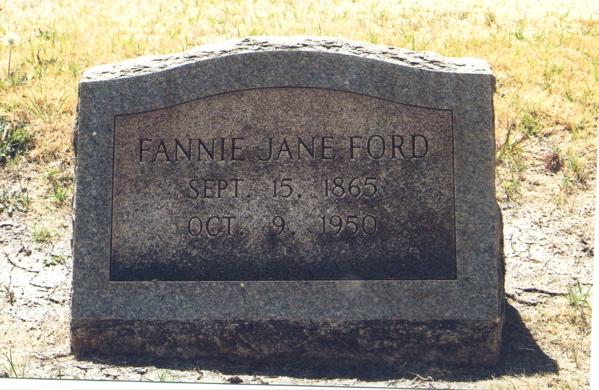 Fannie Jane Piercy