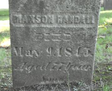 Maxon Randall