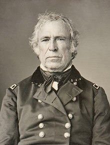 """12th U.S. President & General Zachary Taylor  """"Old Rough and Ready"""""""