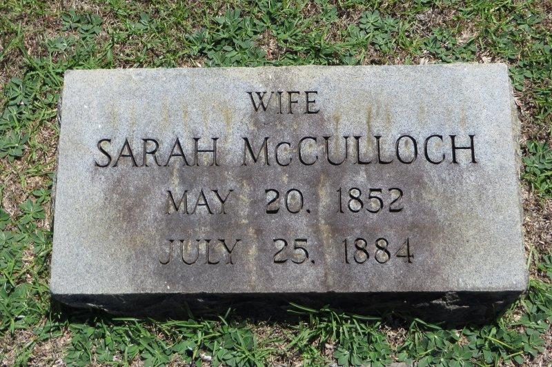 Sarah R McCulloch