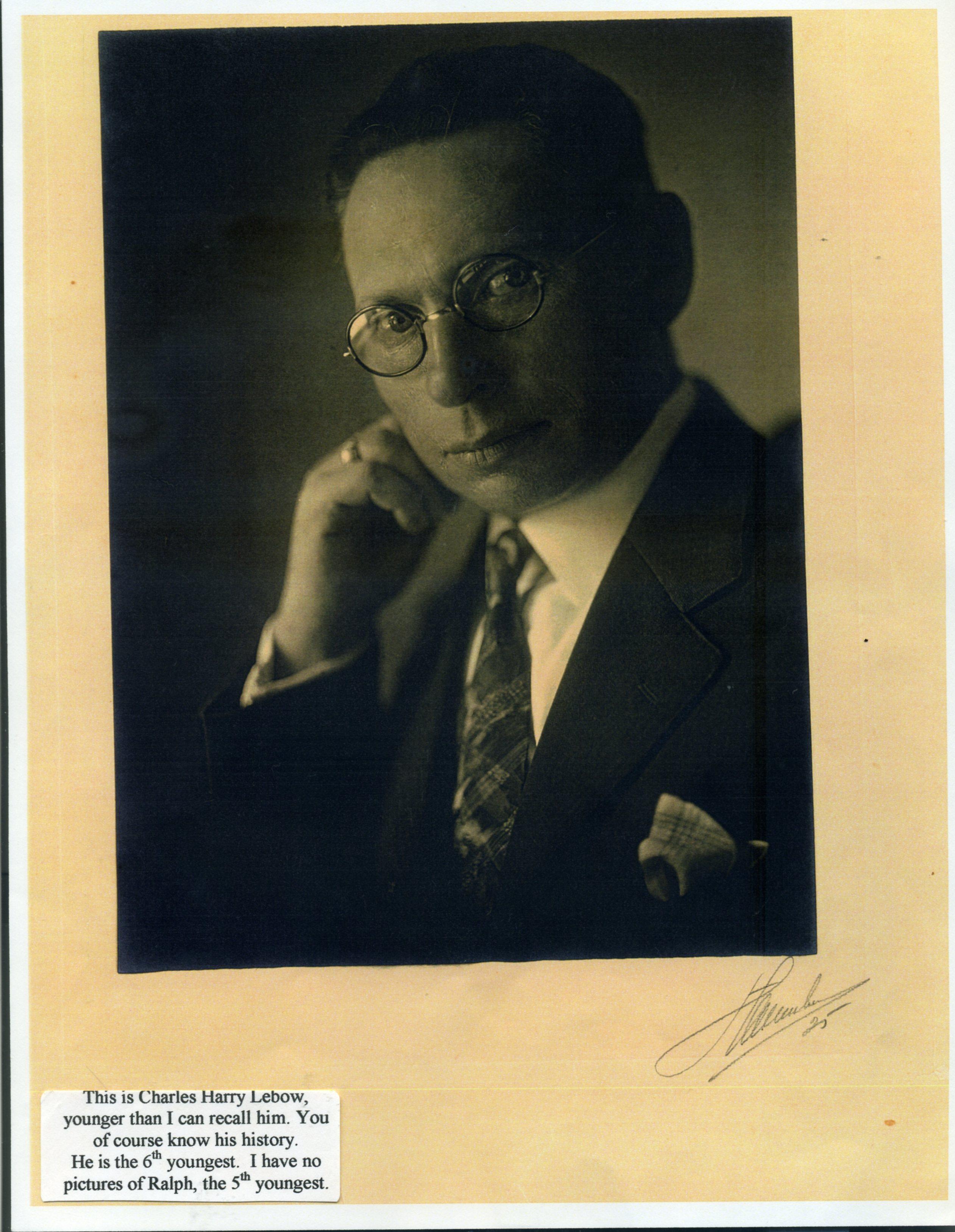 Charles Harry Lebow