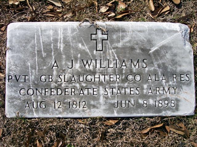 "Alfred Jackson "" A. J."" Williams"