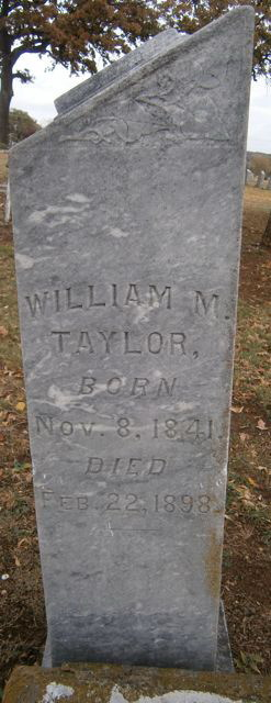 William M Taylor