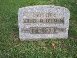 Ethel M. Lehman