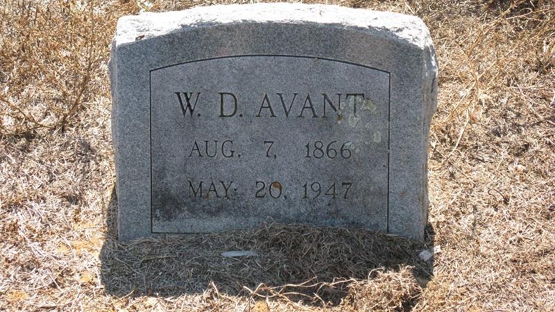 """William David """"Will"""" Avant"""