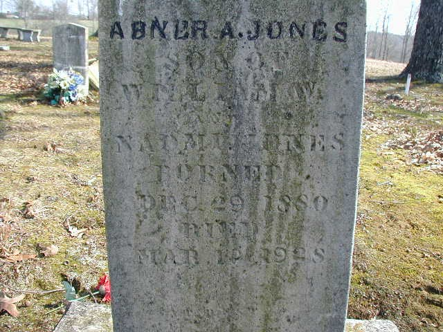 Abner A Jones