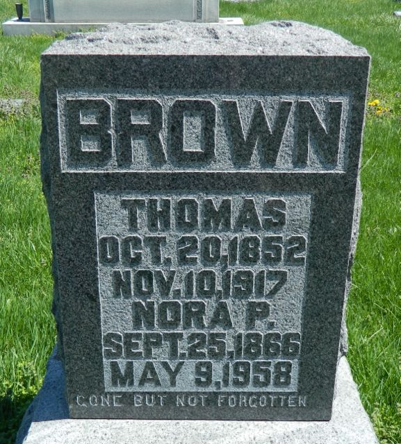 Thomas A Brown