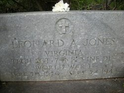 TSGT Leonard A Jones