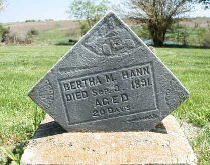 Bertha M Hann
