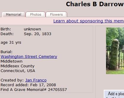 Charles B Darrow