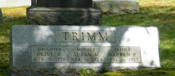 Warren  Pierce Trimm
