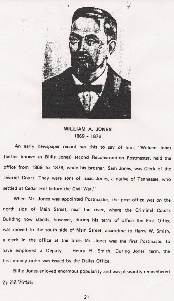 William A Jones