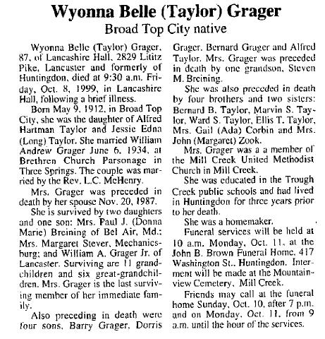 Wyonna Belle Taylor