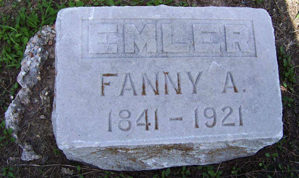 Fanny A Emler