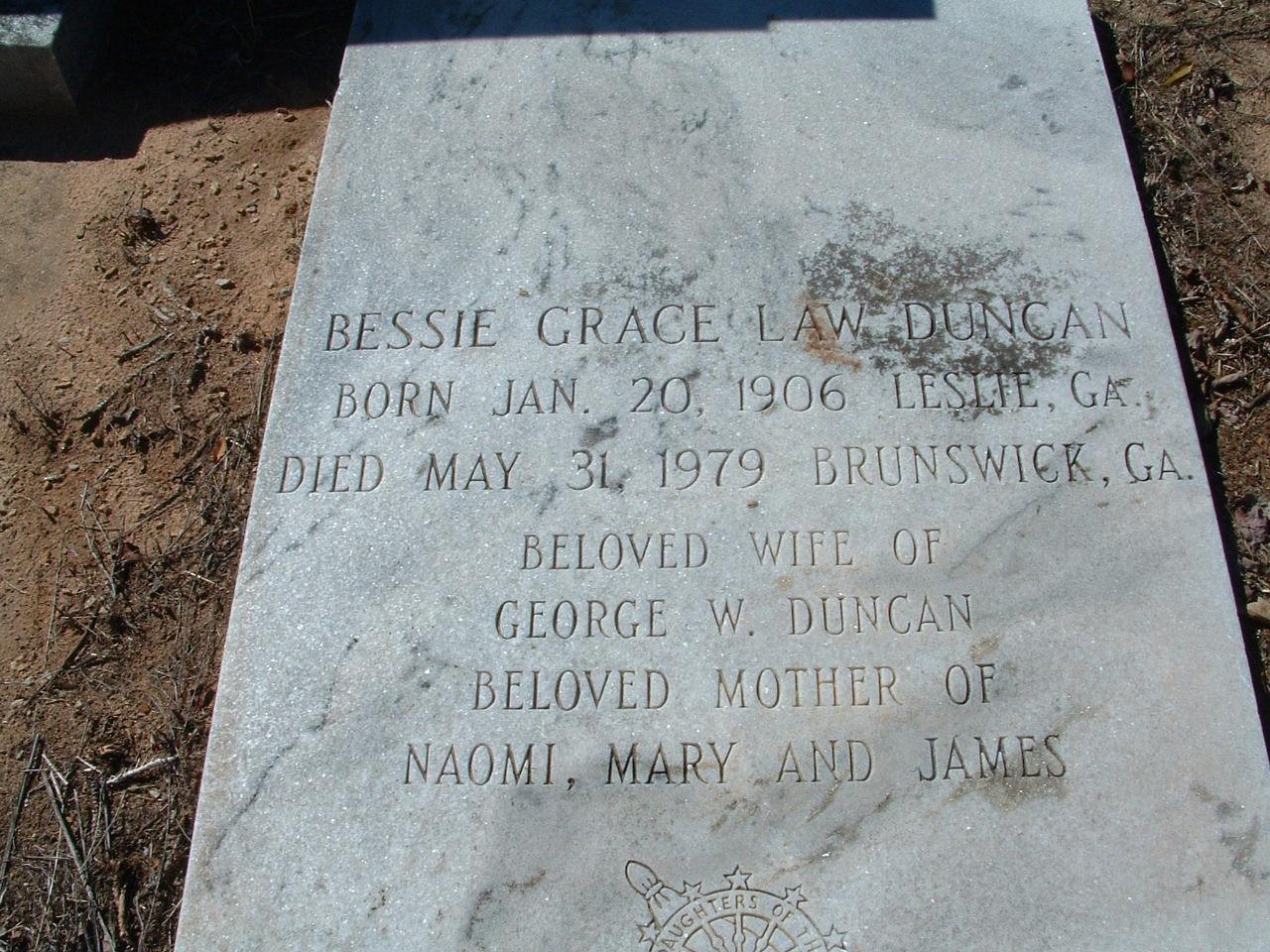 Bessie Grace Law