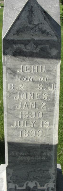 Jehu ( CHILD) Jones