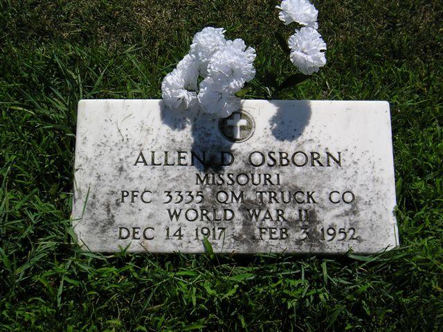 Allen D Osborn