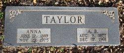 "Allie B. "" Babe "" Taylor"