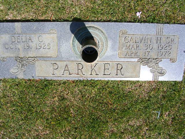 Calvin Hubert Parker