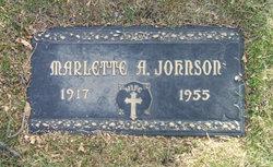 Marlette A. ( Johnson)