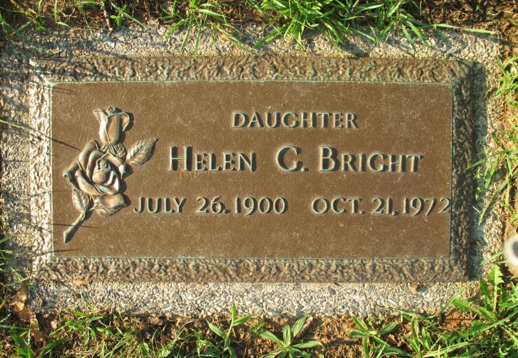 Helen G Bright