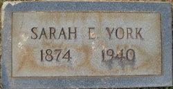 Sarah E Bowman