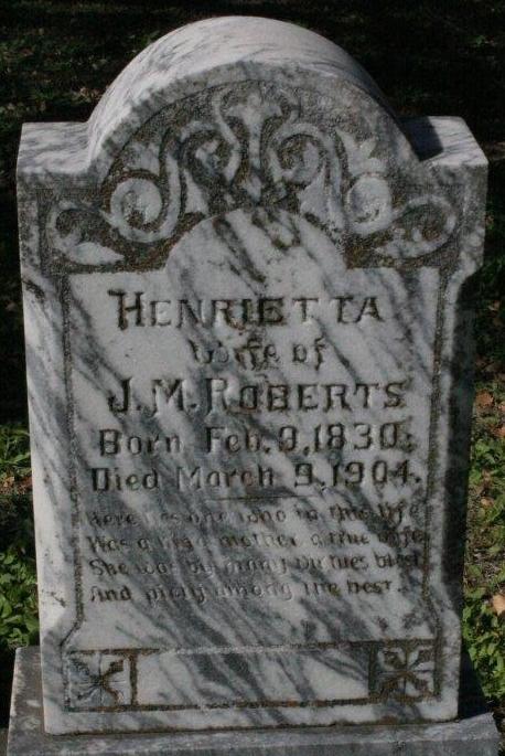 Lucinda Henrietta THAMES Roberts