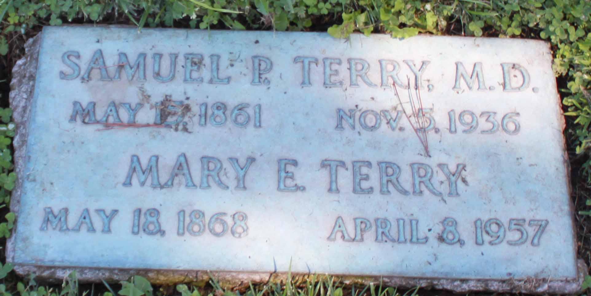 Samuel P Terry