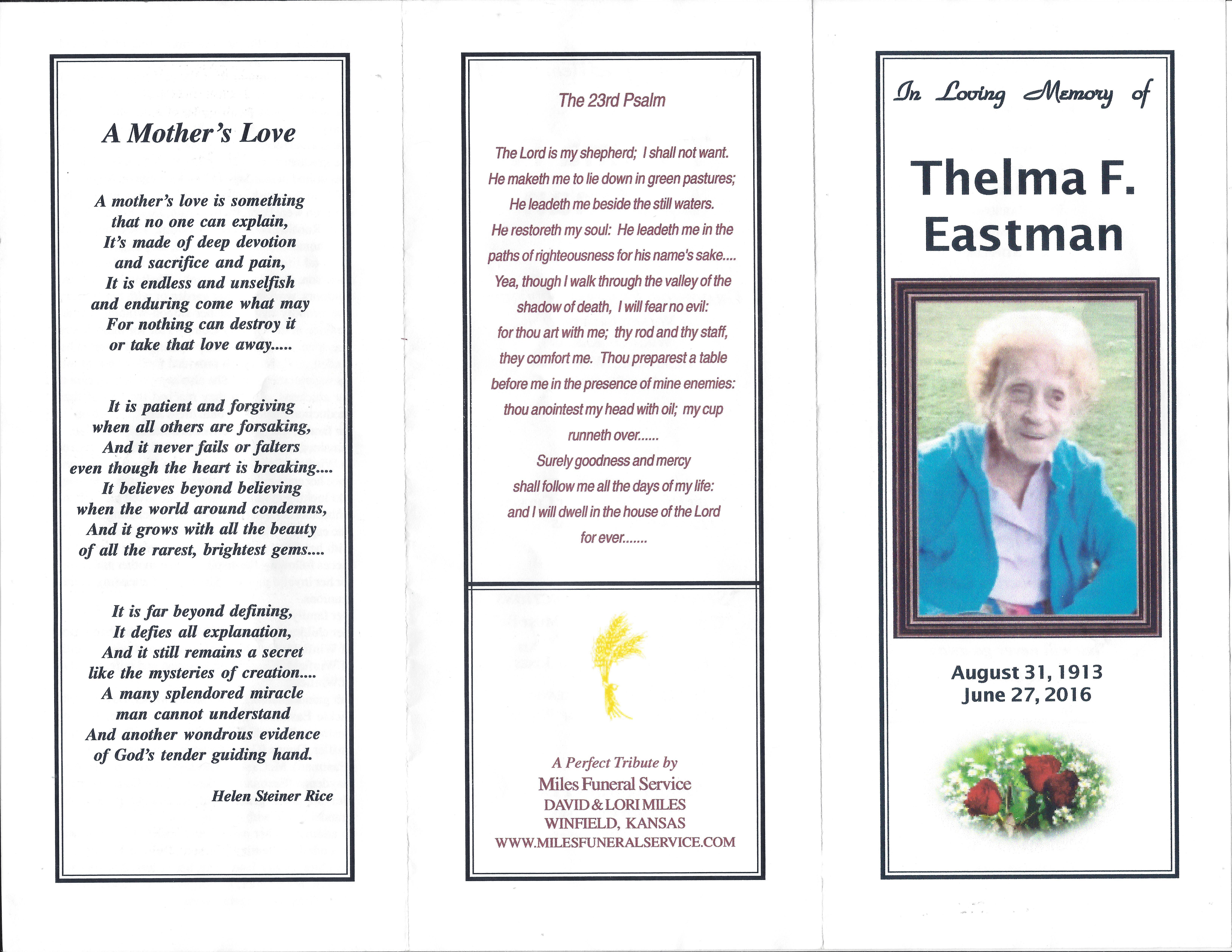 Thelma Fern Floyd