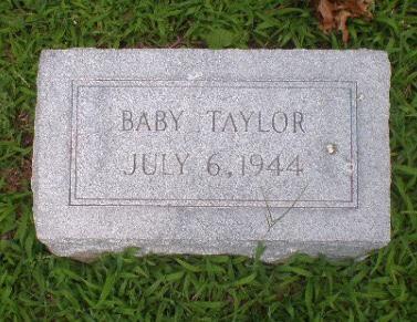 Baby Charlotte Roberts Taylor