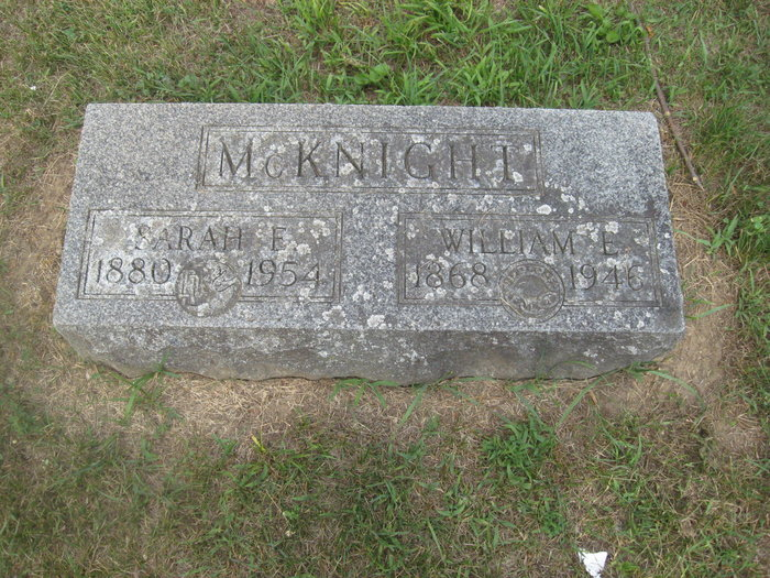 William E Mcknight