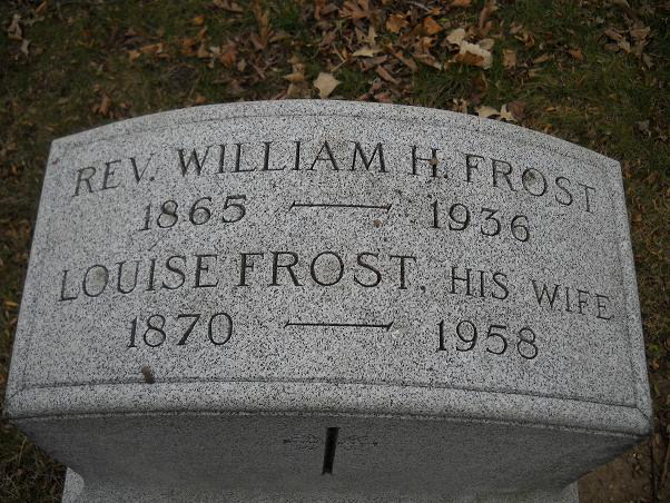 William Henry Frost