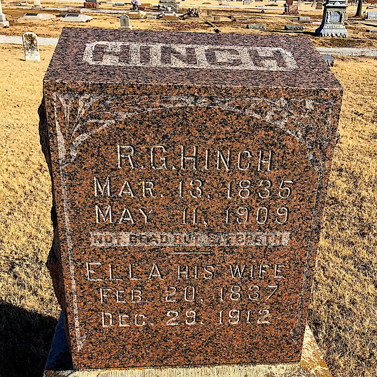 Robert George C Hinch