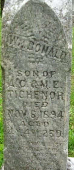 William D Tichenor