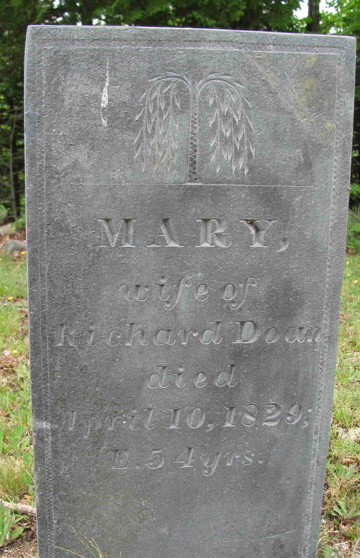 Mary Randall ( Doane )