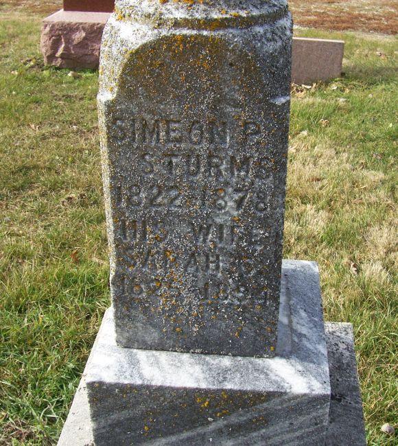 Simeon P Sturm