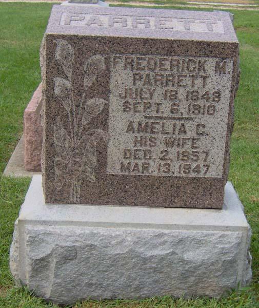 Frederick M Parrett