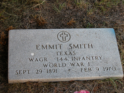 Emmitt Gilbert Smith