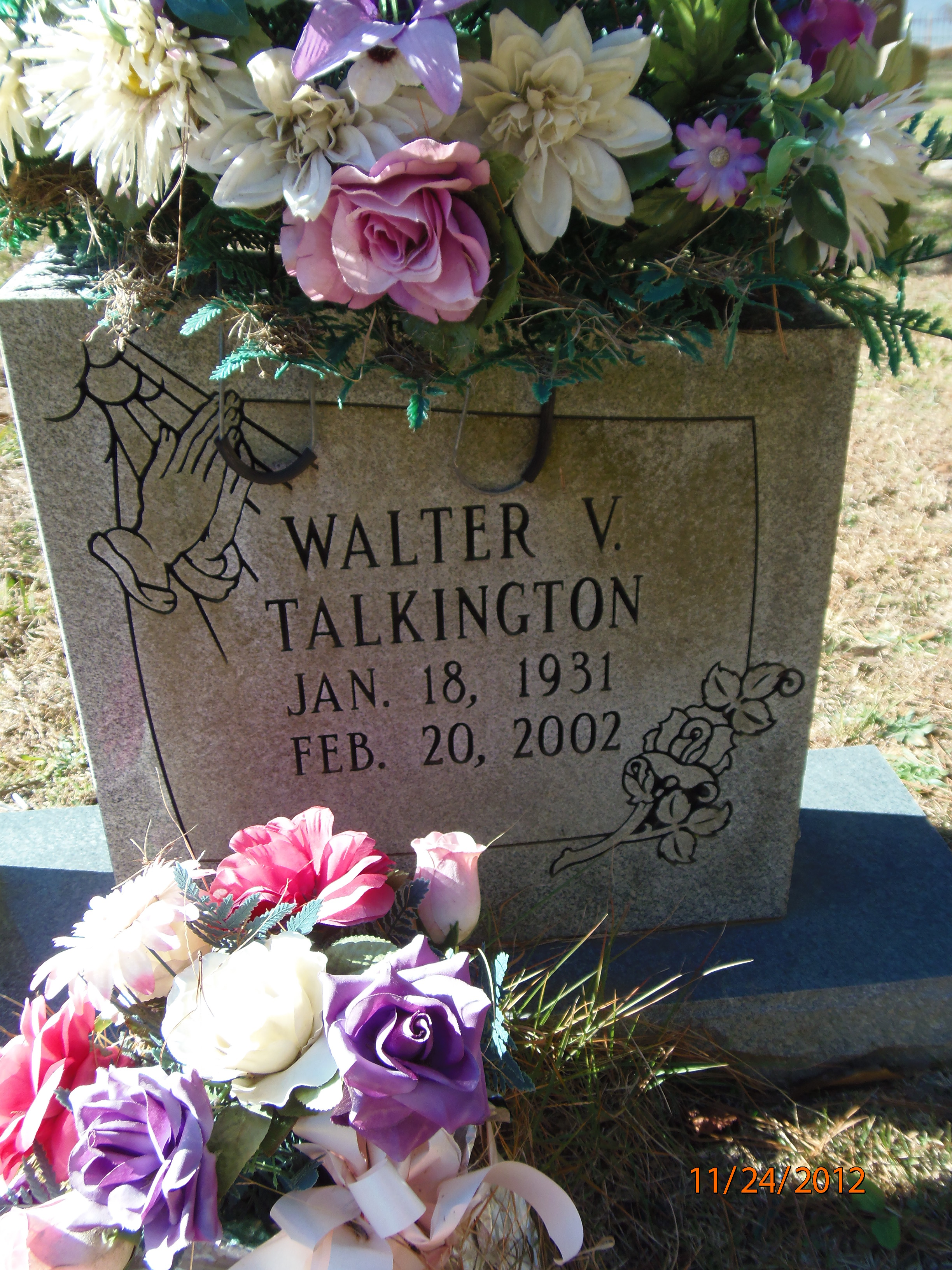 Walter V Talkington