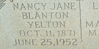 Nancy Jane Blanton
