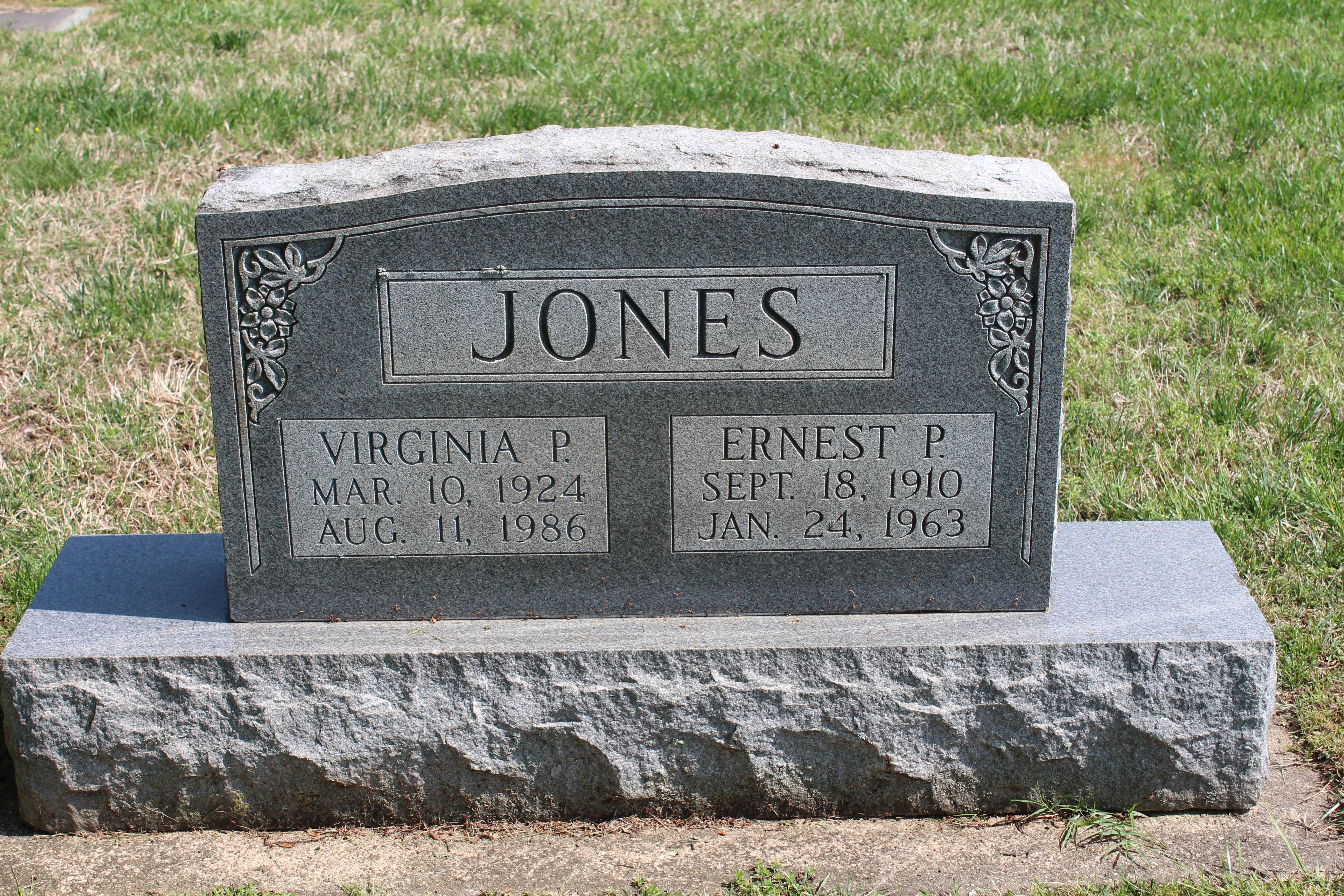 """Ernest P """" Casey"""" Jones"""