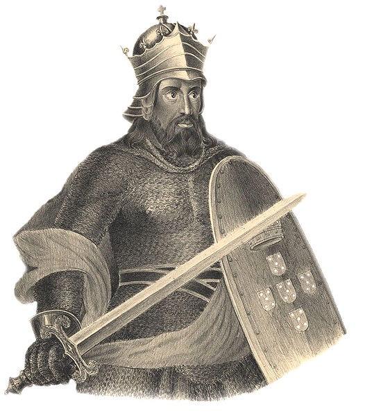 Alfonso I. 'The Conqueror' Henriquez, King of Portugal