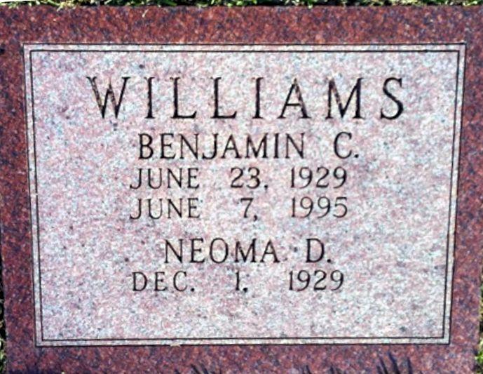 Benjamin Collin Williams