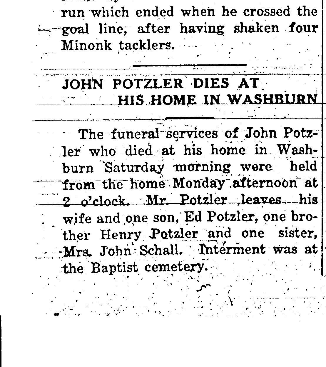 John Potzler